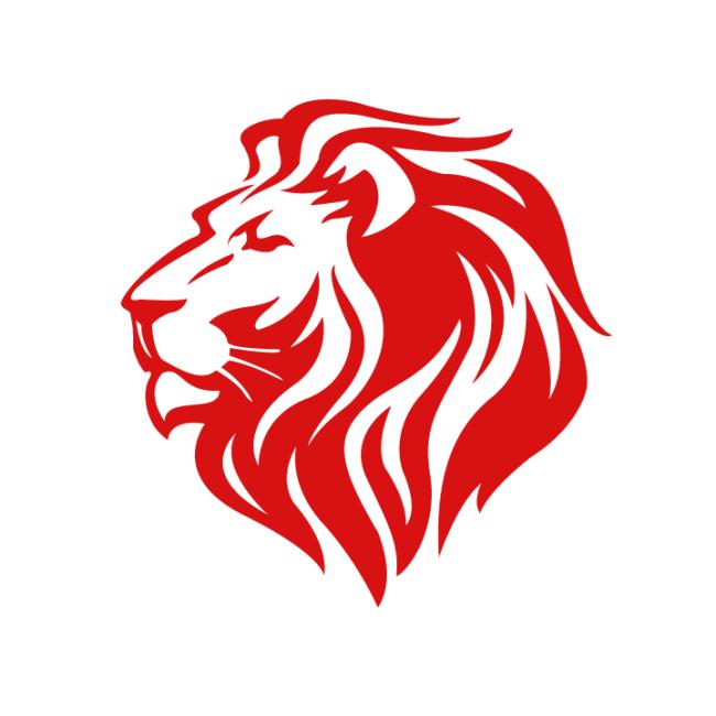 lion logo croovs community of designers