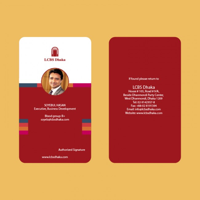 Employee Id Card  Croovs  Community Of Designers