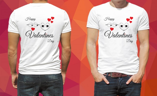 T Shirt Design For Valentine S Day Croovs Community Of Designers