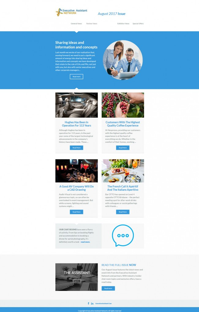 Executive Assistant Email Template Croovs Community Of Designers